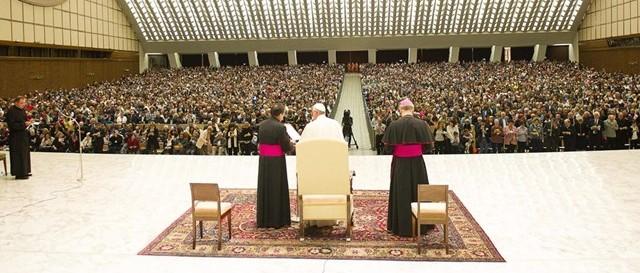 Papa Francisco en la Ultreya Internacional